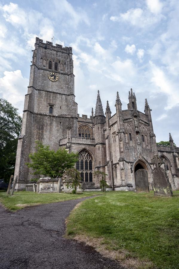 St Peter and St Pauls Church in Northleach town, Gloucestershire, Cotswolds, England stock images