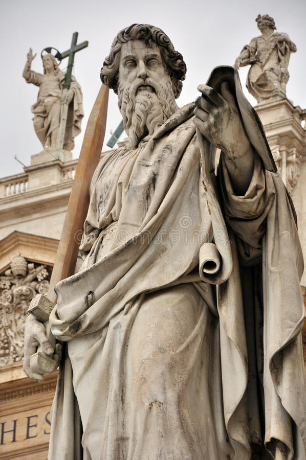 St Peter Statue à Vatican photo libre de droits