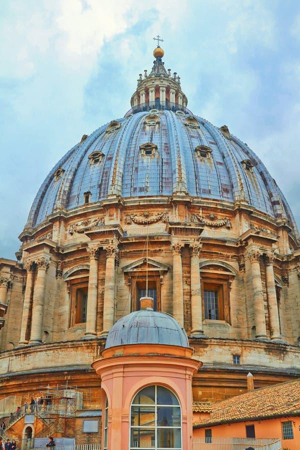 St Peter u. x27; s Basilika, St Peter u. x27; s-Quadrat stockfoto