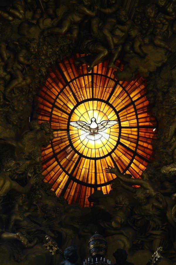 St. Peter in Vatikaan stock foto