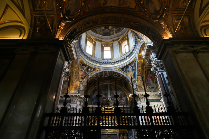 St. Petero Basilica, Vatican stock photo