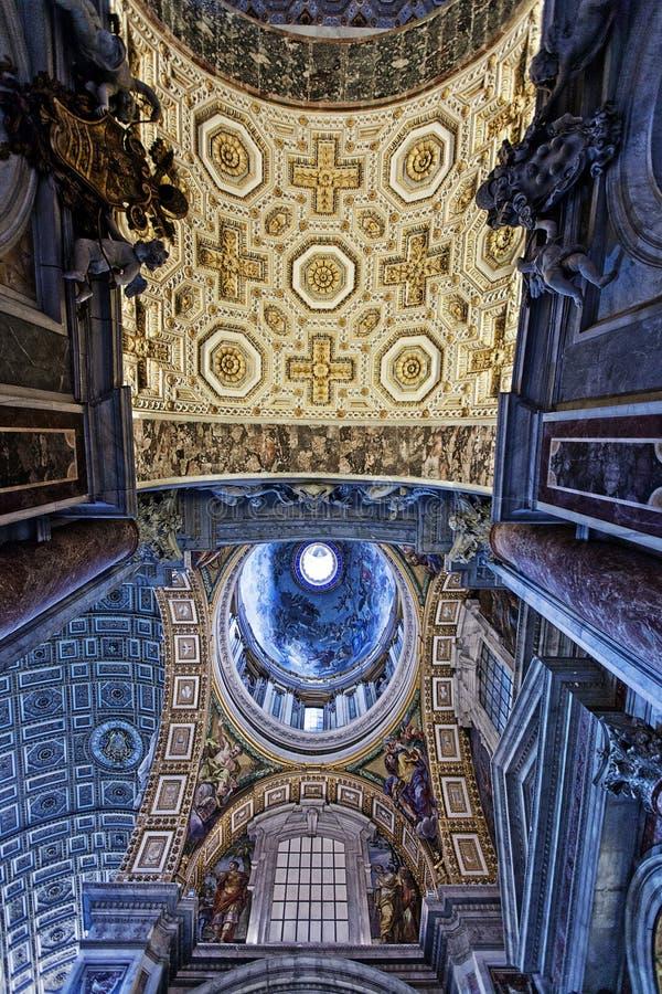St Peters Basilica fotos de stock