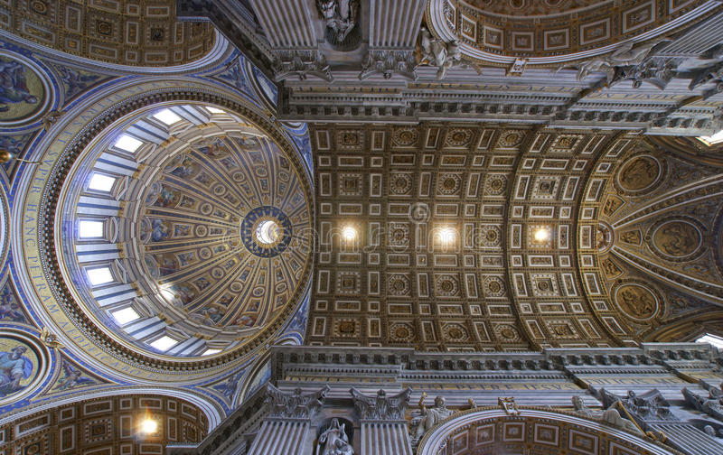 St. Peters Basilica fotografia de stock