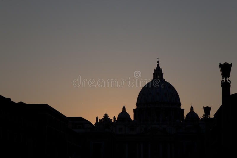 Download St Peters Basilica Church; Vatican Stock Image - Image: 22519817