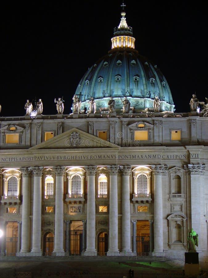 St Peters Basillica, Roma, Italia fotografia stock libera da diritti
