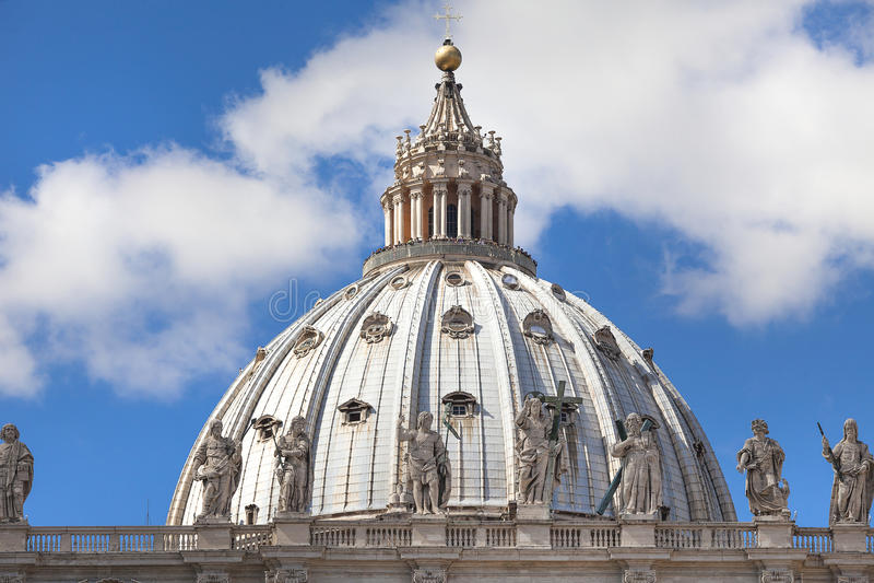 St. Peters bazylika obrazy royalty free