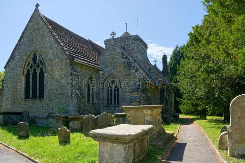 St Peters Church, Ardingly, Sussex UK arkivfoton