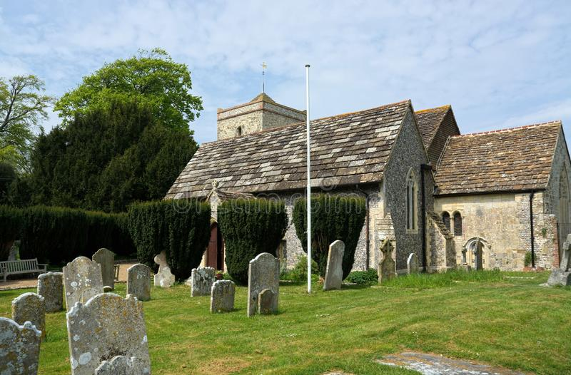 St Peters Church, Beeding superior, Sussex ocidental, IK foto de stock royalty free