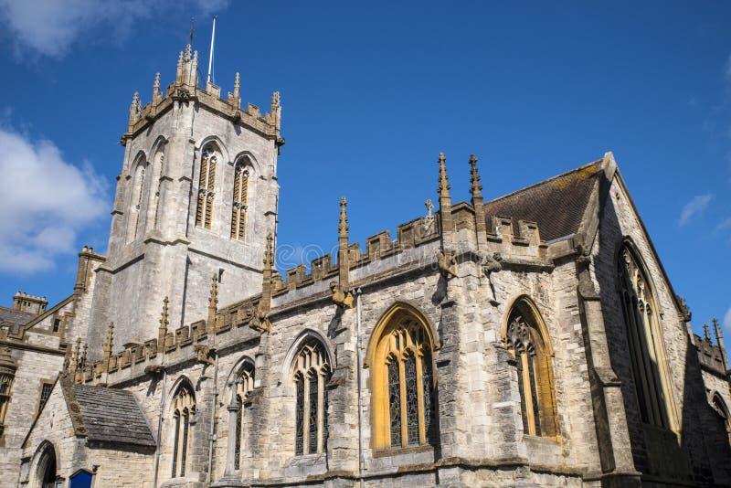 St Peters Church em Dorchester fotografia de stock royalty free