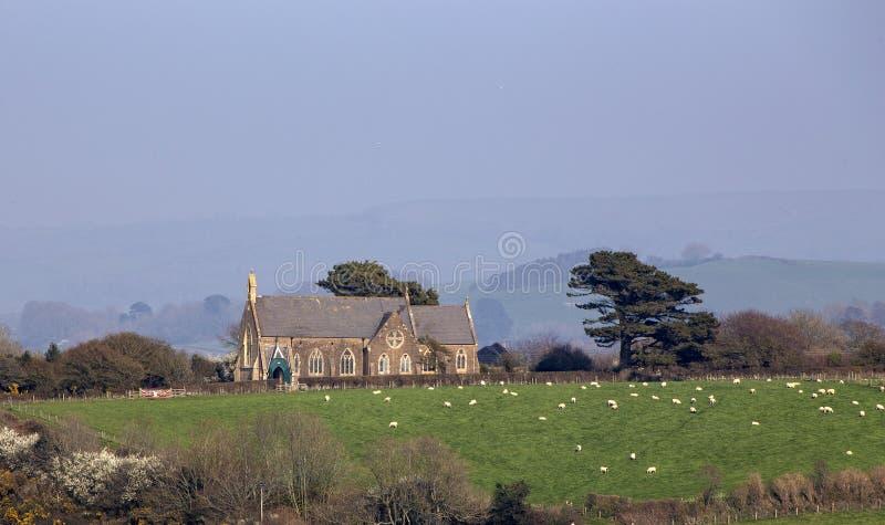 St Peters Church Eype imagens de stock
