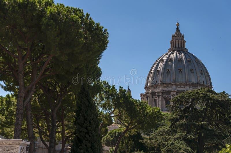 St Peters de Koepel van de Basiliek royalty-vrije stock foto