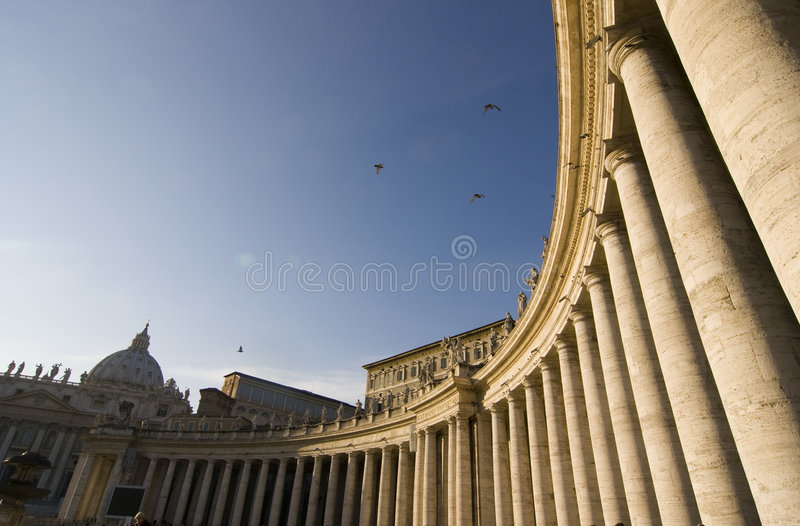 St. Peters Square stock photography