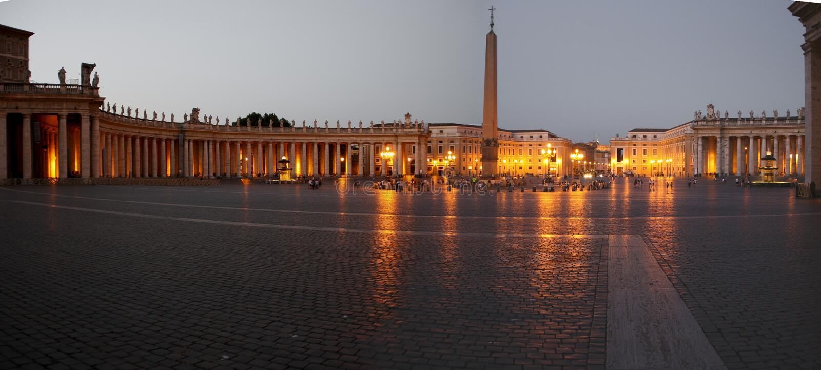 St. Peters Square in Rome