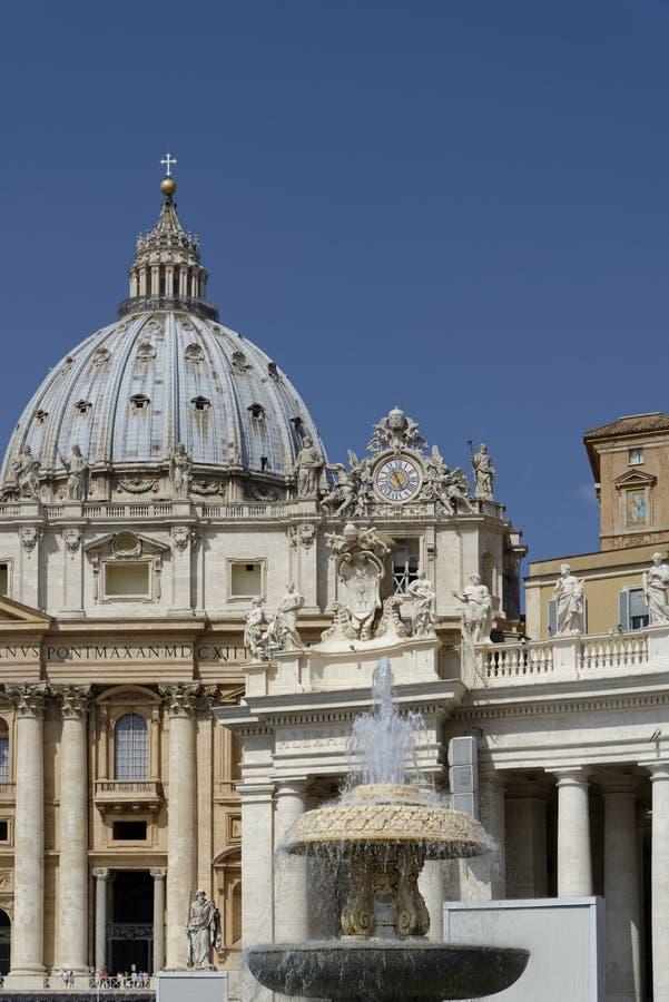 St Peters Square, Vaticanen fotografering för bildbyråer