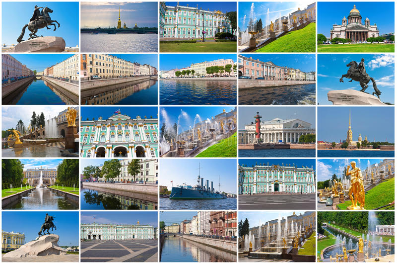St Petersbourg images stock