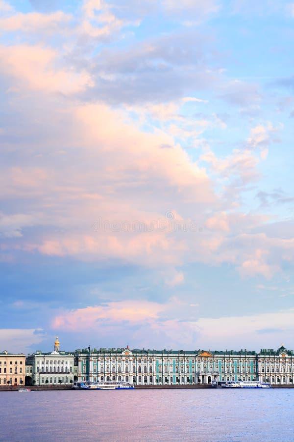 St Petersbourg en Russie images libres de droits