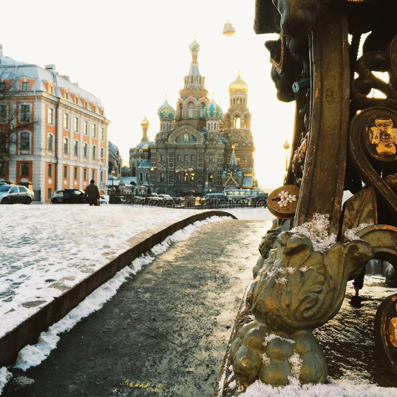 St Petersbourg Russie images stock