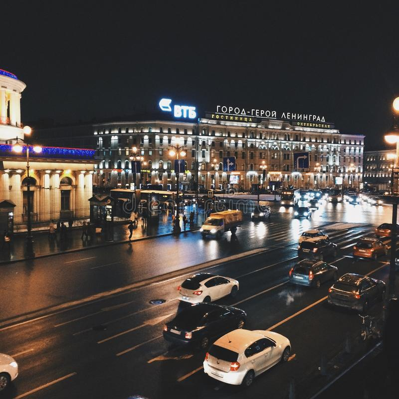 St Petersburg foto de stock royalty free