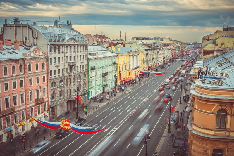 St Petersburg arkivbild