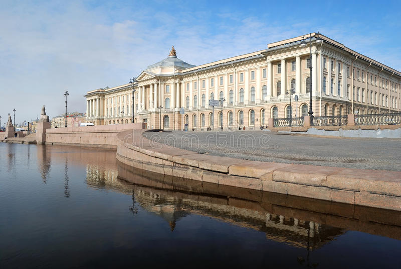 St. Petersburg Academie van Arts. stock fotografie