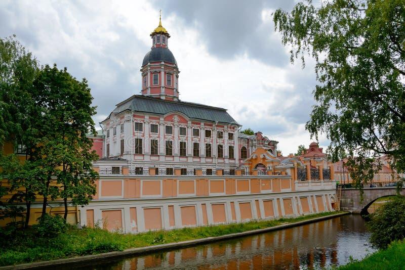 St Petersburg, Alexander Nevsky Lavra fotos de archivo libres de regalías