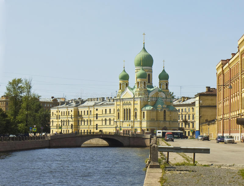 St. Petersburg, cathedral of Saint Isidor stock photos