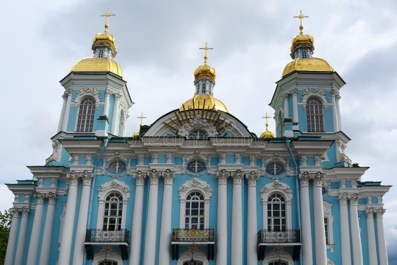 St Petersburg, cattedrale navale fotografie stock libere da diritti