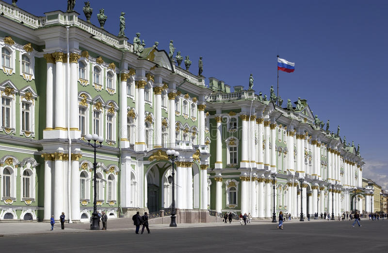 St Petersburg - Einsiedlerei-Museum - Russland stockbild