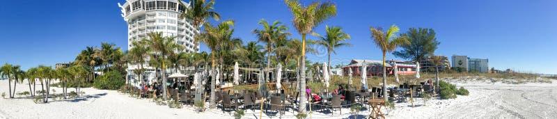 ST PETERSBURG, FL - FEBBRAIO 2016: St Pete Beach di vista panoramica immagini stock