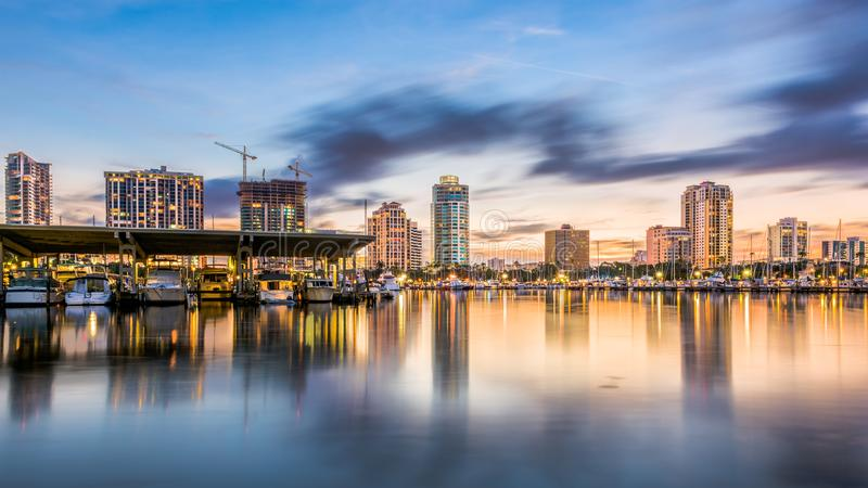 St Petersburg, Floryda, usa obraz royalty free