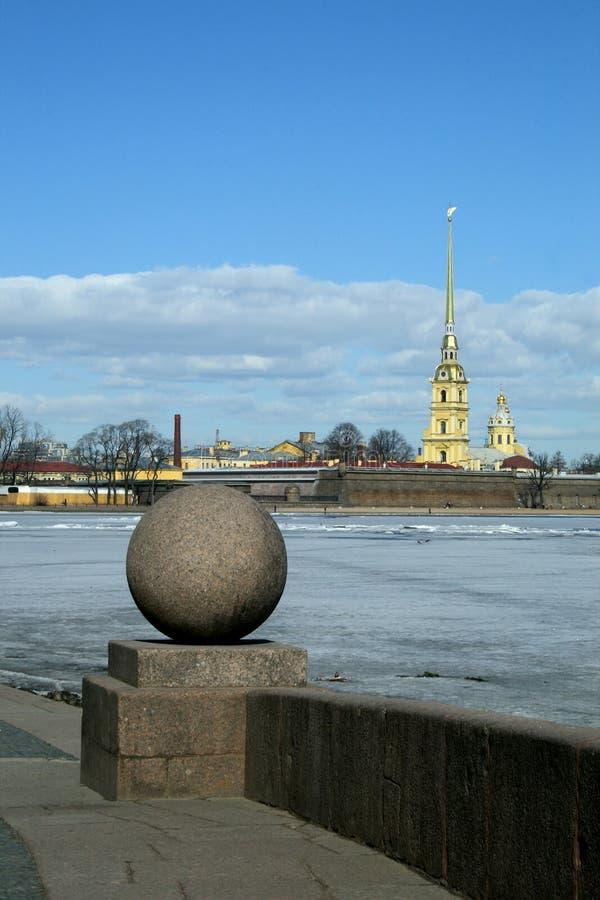 St Petersburg. Fortaleza de Peter e de Paul. fotografia de stock