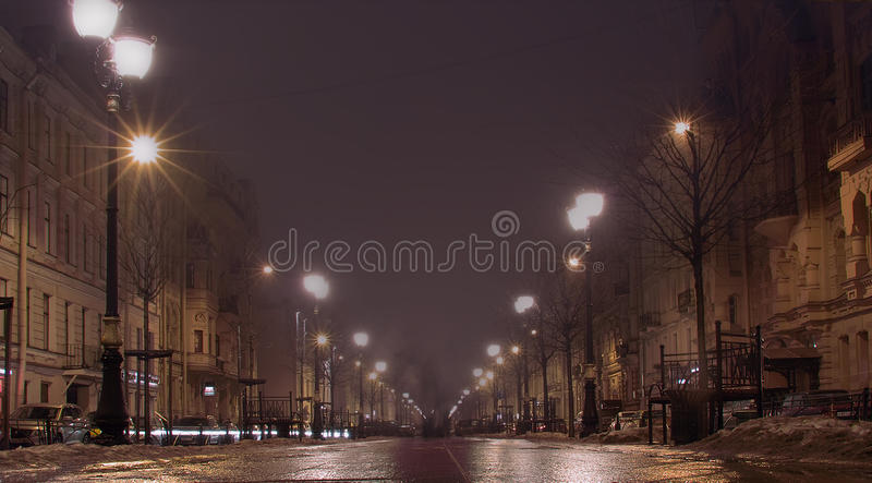 St Petersburg Furshtatskaya photo stock