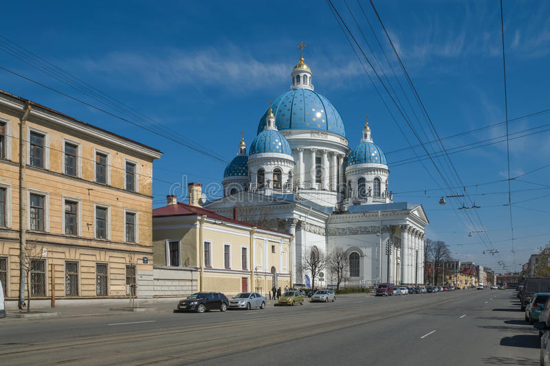 St. Petersburg and its attraction royalty free stock photography