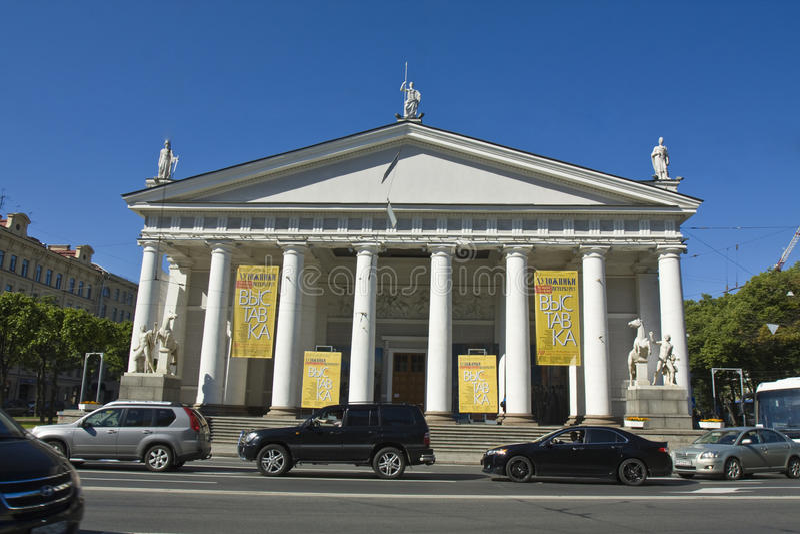 Download St. Petersburg, Konogvardeyskiy Manege Editorial Photo - Image of city, konogvardeyskiy: 31939921