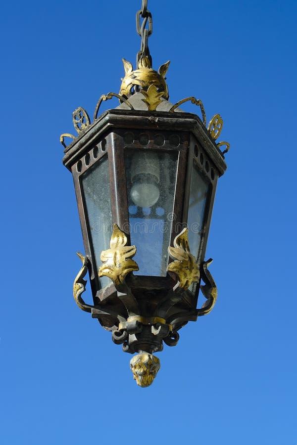 St Petersburg, lanterne de vintage image libre de droits