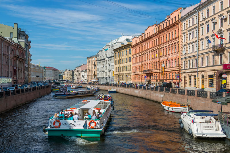 St. Petersburg stock images
