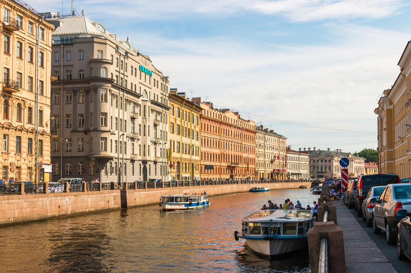 St. Petersburg royalty free stock photo