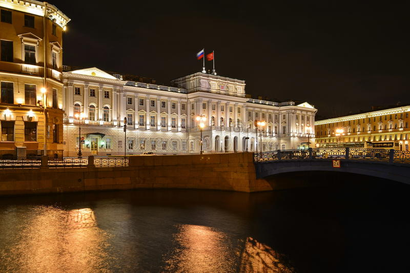 Download St. Petersburg, The Mariinsky Palace Stock Photo - Image: 26076192