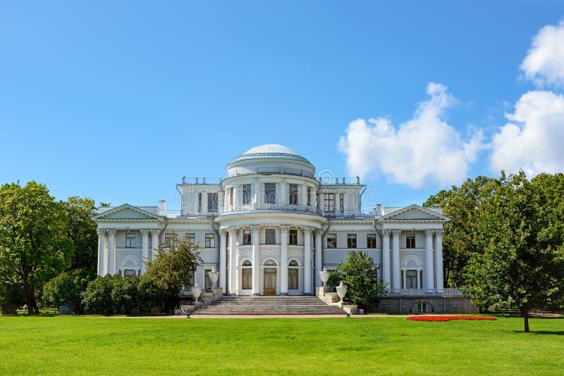 St Petersburg, palais d'Elagin photographie stock libre de droits