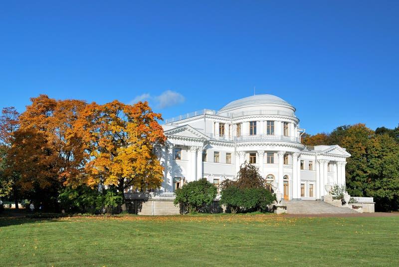 St Petersburg. Palazzo di Elagin fotografia stock libera da diritti