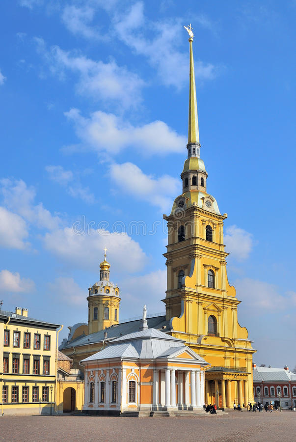 St. Petersburg. Peter and Paul Cathedral royalty free stock image