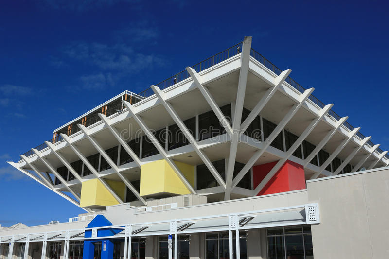 St. Petersburg Pier royalty free stock photography
