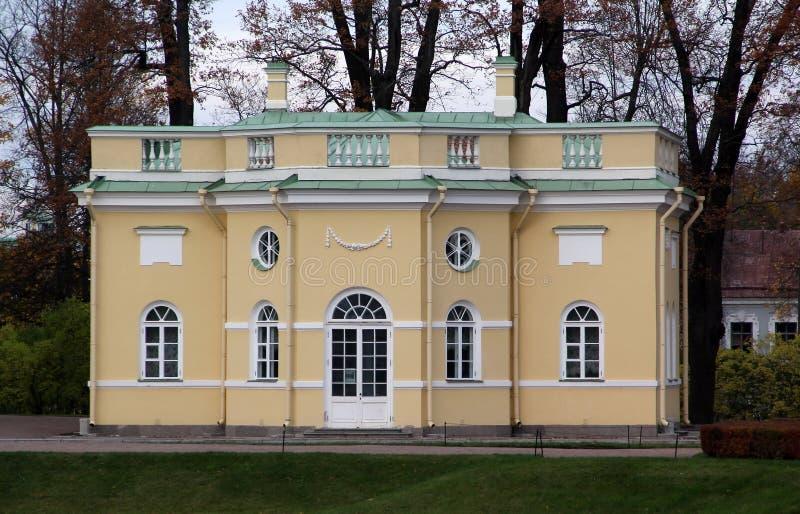 St Petersburg pushkin Tsarskoye Selo ist ein ehemaliger russischer Wohnsitz der Kaiserfamilie und des Besuchsadels 24 Kilometer S lizenzfreie stockfotografie
