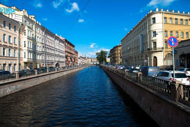 St Petersburg, río de Neva imágenes de archivo libres de regalías