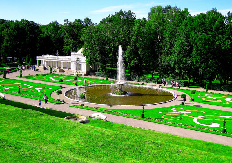 St Petersburg, Rússia, Peterhof foto de stock royalty free