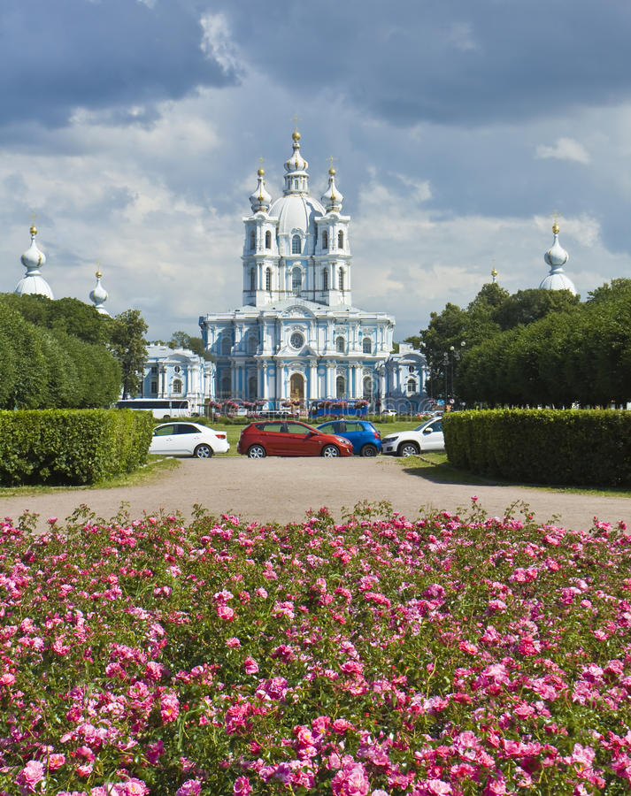 Download St. Petersburg, Resurrection Cathedral Of Ressurrection Smolniy Stock Image - Image: 28400971
