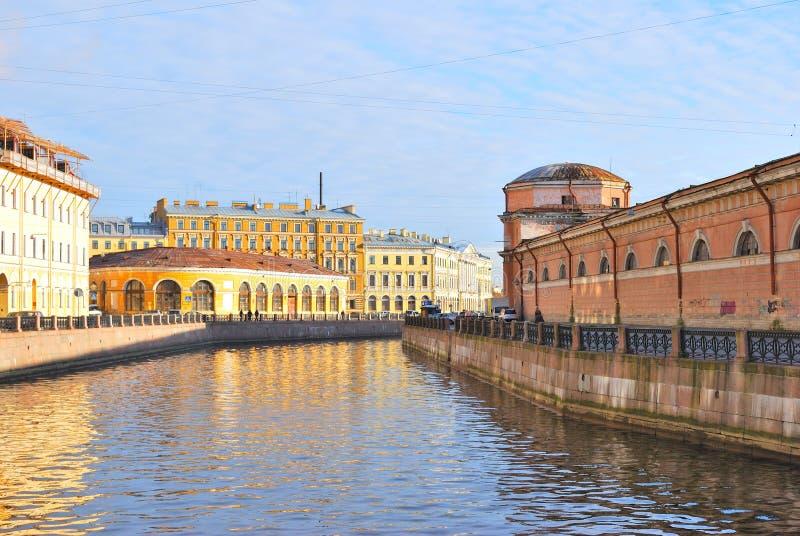 St. Petersburg. River Moika Stock Photos