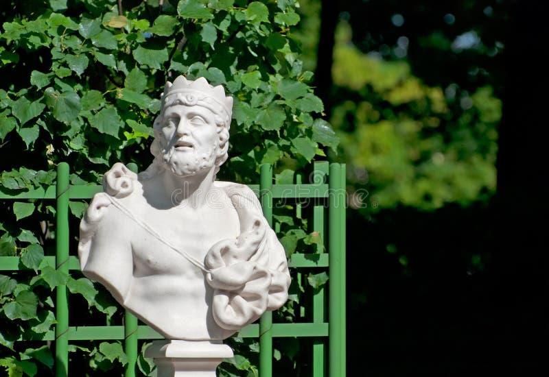 St Petersburg Rusia Busto de rey Midas imagen de archivo