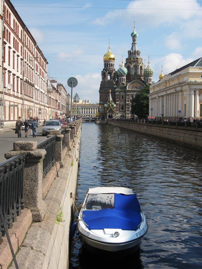 St Petersburg, Rusia, catedral del Jesucristo foto de archivo