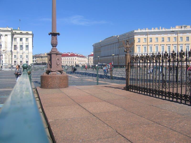 St Petersburg Rusia Cuadrado 29-06-2019 del palacio fotos de archivo
